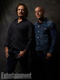 Kim Coates and Theo Rossi, Sons of Anarchy. See more stunning star portraits from our photo studio at San Diego Comic-Con 2014 here: http://www.ew.com/ew/gallery/0,,20399642_20837151,00.html