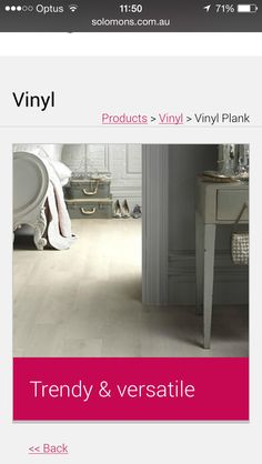 Vynal Flooring Options