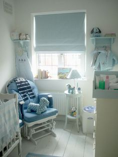 Very cute nursery. @Jack Thompson how would you feel about painting the floor boards white? Plus with a nice cosy rug...