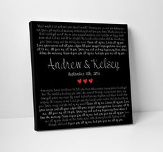 Great for wedding gifts, and anniversary's! All of Me Loves All of You John Legend Canvas by TheStandardCanvas 13th Anniversary, Wedding Anniversary Gifts, Wedding Vows, Wedding Gifts, Wedding Ideas, Words On Canvas, Canvas Art, Love You All, My Love