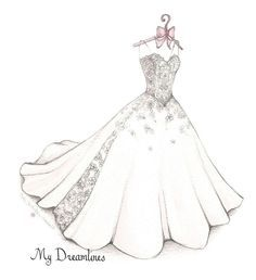 Over 3000 Amazing Wedding Dress Sketches Created Wedding Dress Suit, Amazing Wedding Dress, Wedding Dresses, Fashion Design Drawings, Fashion Sketches, Drawing Fashion, How To Draw Skirt, Wedding Dress Drawings, Vestidos Fashion