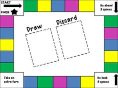 Here's a set of three different blank game boards for you to create your own review games.