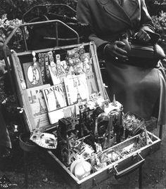 """""""All Paris in a box""""  Paris 1952   Ilse Bing  © Victoria and Albert Museum"""
