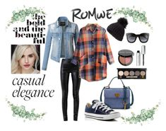 """casual elegance"" by draganica-2 ❤ liked on Polyvore featuring LE3NO, Helmut Lang, Converse, Miss Selfridge, Gucci and Bobbi Brown Cosmetics"