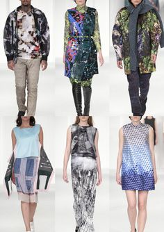UCA  Rochester Graduate Fashion Week 2014    Catwalk Print & Pattern  Highlights catwalks