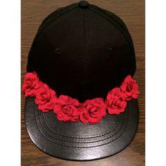 Flower SnapBack Hat, Floral Snapback, Flower Crown, Flower Halo, Festival, EDC, Coachella, Floral Hat
