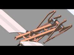 Rice Transplanter Six-bar - YouTube