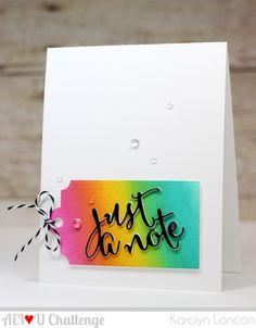 AEIHeartUChallenge: AEI♥U Challenge #25 - Rainbow!