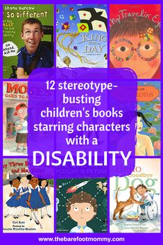 These 12 children's books all star a character with a disability, and challenge common stereotypes about what it means to be disabled. Teaching Kids, Kids Learning, Emotional Books, Thinking In Pictures, Preschool Books, Fiction And Nonfiction, Chapter Books, Book Lists, Reading Lists