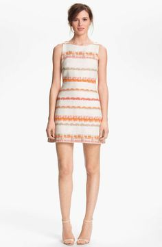 Alice+Olivia Alice + Olivia 'Everleigh' A-Line Dress