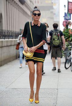 New York Fashion Week 2014 Street Style Hunter | Grazia Fashion