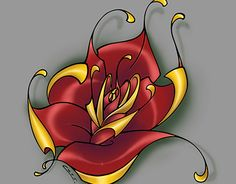 """Check out new work on my @Behance portfolio: """"Rose"""" http://be.net/gallery/32447735/Rose"""