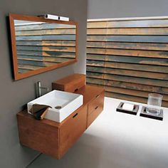Modern Bathroom Vanity Set - Mojave