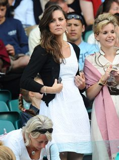 Kate Middleton. Love this look!