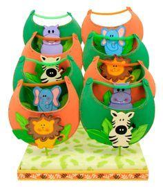 Despachador de gorras para Fiestas Infantiles   Animalitos 3ae914628b3