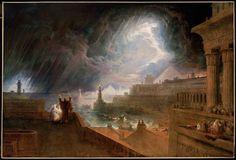John Martin, Seventh Plague of Egypt, 1823.