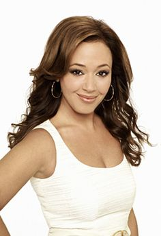"leah remini. Only reason I watch ""Kings of Queens"". Naw, it's funny too."