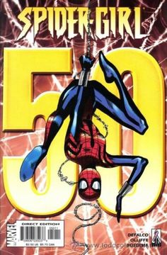 Browse the Marvel Comics issue Spider-Girl Learn where to read it, and check out the comic's cover art, variants, writers, & more! Dc Comics Women, Marvel Dc Comics, Spider Girl, Marvel Girls, Classic Comics, Spider Verse, Silver Surfer, American Comics, Comic Book Covers