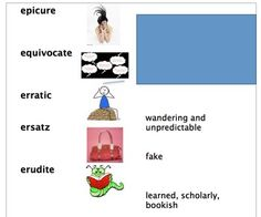 Vocabulary and memory devices to help you study for the GRE (powerpoint)