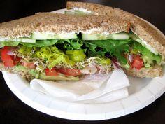 a hint of honey: Cucumber Avocado Sandwich
