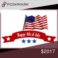 HAPPY BIRTHDAY USA 🇱🇷🇱🇷🇱🇷🇱🇷🇱🇷 MAKE YOUR OFFER !!!!!!    MAKE YOUR OFFER !!!!!! POSHBOUTIQUE16 Other