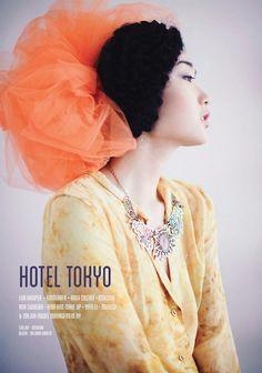 Hotel Tokyo | Exclama Magazine | Women's fashion photography by Eva Kruiper. Eva is a Dutch-born photographer based in Amsterdam | Cape Town | Ibiza.  www.evakruiperphotography.com