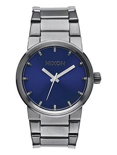 Nixon - Cannon - Gunmetal / Cobalt Sunray watch *** You can get additional details at the image link.