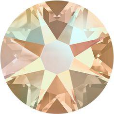 2058 2088 Copper Swarovski Flatback Crystals Non Hot Fix Pack of 50