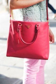 Sterling Style, pink prada