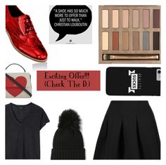 """""""Shoe Promotion (Link In The Description!)"""" by dreamingdaisy ❤ liked on Polyvore featuring T By Alexander Wang, Deby Debo, Urban Decay and Kate Spade"""