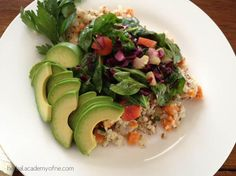 Greens and Roots on a Bed of Warm Quinoa | Herbal Academy of New England
