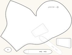 pattern for Indiana Jones' gun holster