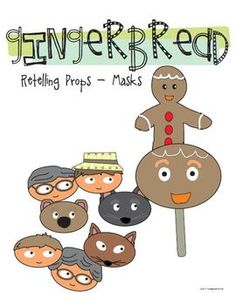 pre-k The Gingerbread Boy on Pinterest | Gingerbread Man, Retelling ...