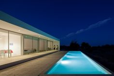 House in Tavira by Vitor Vilhena Architects | HomeDSGN, a daily source for inspiration and fresh ideas on interior design and home decoration.