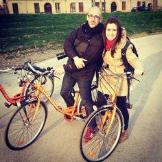 Twitter / @Ainara Dzhentemirova Garcia: Ferrara en bici con @Ignacio Schiefelbein Izquierdo