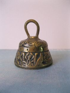 Vintage Brass Bell Made in Belgium (sanctuary bell)