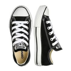 Converse All Star sneakers ($30) ❤ liked on Polyvore featuring shoes, sneakers, canvas shoes, converse trainers, converse sneakers, converse footwear and converse shoes
