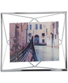 "Umbra Prisma Picture Frame, 4"" x 6""  - Silver"