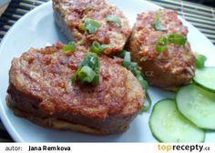 Pikantní topinky recept - TopRecepty.cz