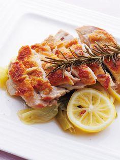 【ELLE a table】鶏もも肉のハーブ蒸し レシピ エル・オンライン