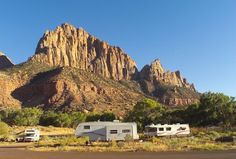 Watchman campground - Zion National Park