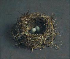 I love the realistic work of Dutch artist Henkel Helmantel. Birds nest are just wonderful. Tjalf Sparnaay, Romantic Paintings, Different Kinds Of Art, Decoupage, Realistic Paintings, Oil Paintings, Dutch Painters, European Paintings, Still Life Art