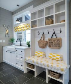 Laundry & Mud Room ideas for your next home. Let's chat about your favorites at our next home design chat! Mudroom Laundry Room, Laundry Room Design, Laundry Area, Laundry Sinks, Laundry Drying, Laundry Decor, Luxury Interior Design, Home Interior, Airstream Interior
