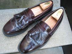 J. Murphy Johnston & Murphy Burgundy Dress Loafers 11 M #JohnstonMurphy #LoafersSlipOns