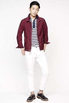 JCrew - spring 2014 Look Fashion News, Fashion Show, Men's Fashion, Winter Typ, Casual Wear For Men, Stylish Boys, Best Mens Fashion, Models, Men's Collection