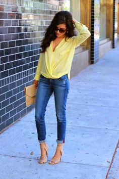 Everyday New Fashion: Beautiful Mellow Yellow