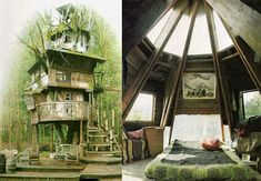 Ahhhh.....I would just lie in bed and read or stare out the window all day long... #eco-friendlyhomes