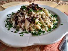 Opatance s krúpami (fotorecept) - recept Risotto, Ethnic Recipes, Food, Basket, Essen, Meals, Yemek, Eten