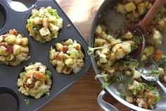 ... with apple cornbread stuffing stuffing muffins with apple and pancetta