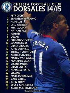Team 2014-2015  #Chelsea #CFC #ChelseaFC #ChelseaFan